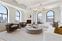 iconic penthouse in The Shephard luxury homes
