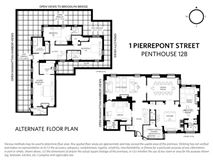 Penthouse B at One Pierrepont Street luxury homes