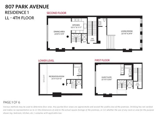 Mansions wonderful opportunity on park avenue