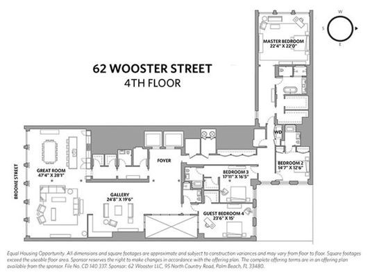 62 Wooster  mansions
