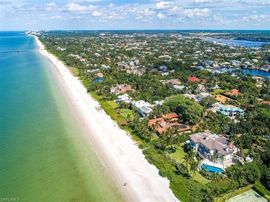 new home in gated beachfront enclave mansions