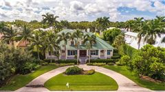 Luxury properties Old Florida style architecture steps to beach