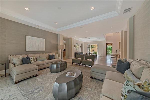 turnkey furnished villa in Serafina at Tiburon luxury homes