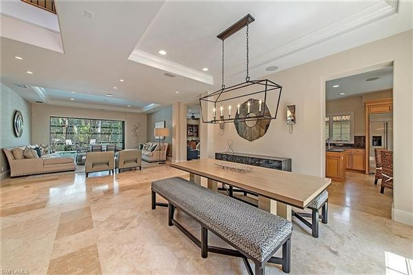 turnkey furnished villa in Serafina at Tiburon luxury real estate
