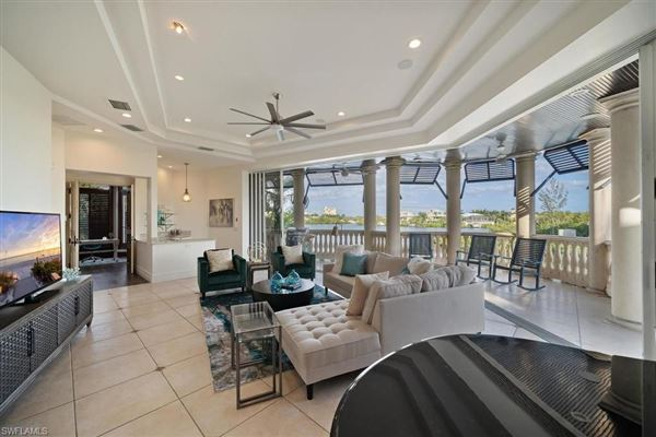 Luxury homes in waterfront home with spectacular updates