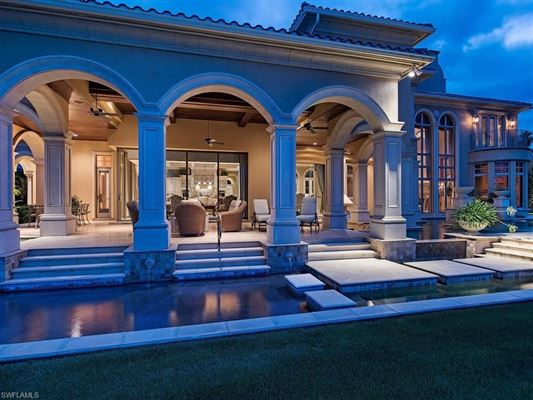 iconic estate at Quail West luxury homes