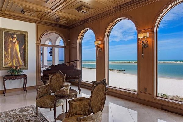 Luxury properties premier beachfront home in Hideaway Beach
