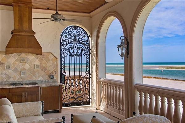Mansions premier beachfront home in Hideaway Beach