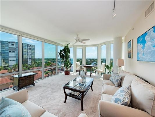 Luxury homes Gulf and Bay View Condo