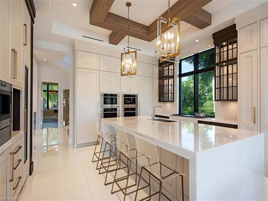 waterfront new construction with wow factor luxury homes