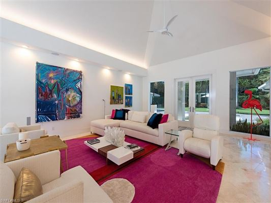 Luxury real estate extensively renovated modern showpiece