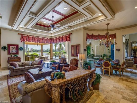 Luxury real estate gorgeous estate home with upgrades throughout