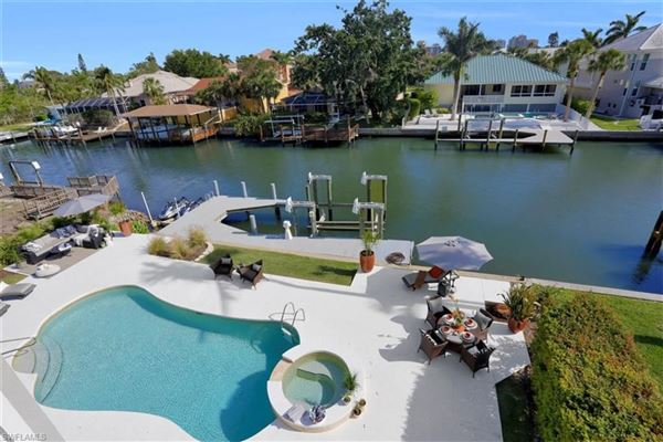 Luxury real estate Gorgeous waterfront pool home