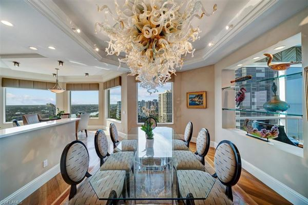 Luxury real estate Absolutely spectacular home in the seasons in naples