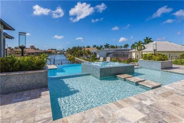 One of a kind on Marco Island mansions