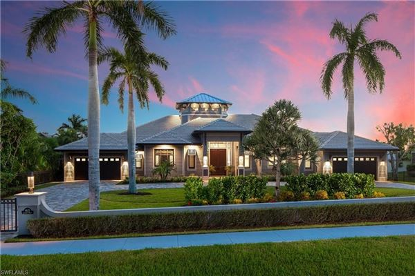 Luxury homes One of a kind on Marco Island