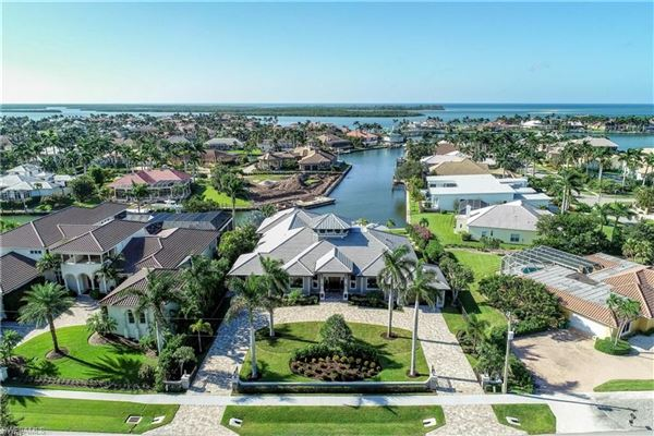 One of a kind on Marco Island luxury homes