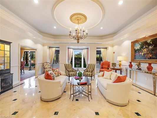Luxury real estate spacious residence with beautiful gulf views