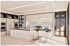 new residences overlooking Cambier Park luxury homes