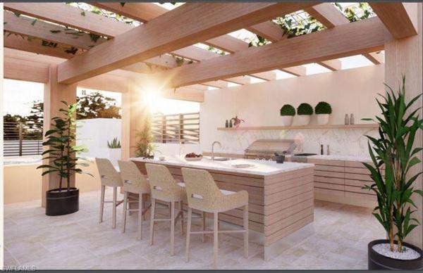 new residences overlooking Cambier Park luxury properties