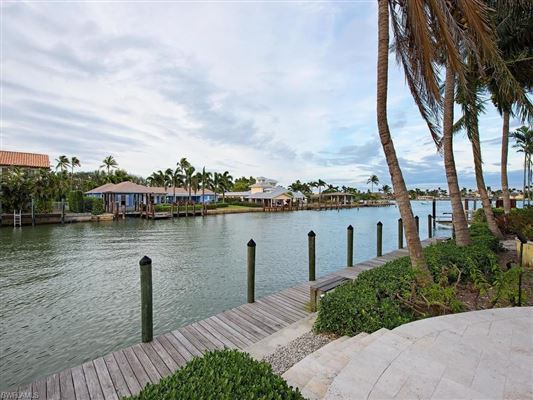 Bermuda style home situated on Jamaica Channel luxury properties