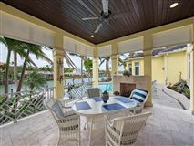Bermuda style home situated on Jamaica Channel luxury homes