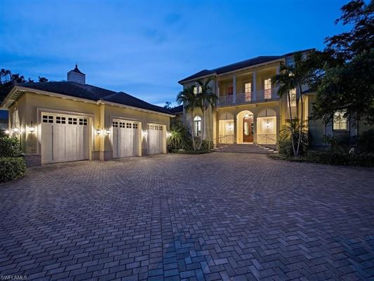 Bermuda style home situated on Jamaica Channel luxury real estate
