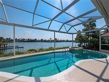 Luxury real estate designer decorated waterfront home