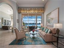 Mansions in designer decorated waterfront home