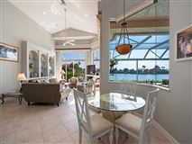 Luxury homes designer decorated waterfront home