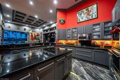 Mansions in a custom contemporary estate