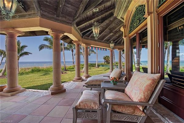 Unparalleled Beachfront Grounds on Luxurious Estate luxury real estate