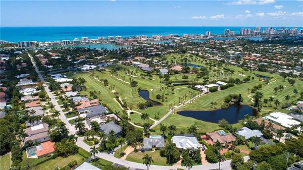 Luxury real estate a prime location on the Moorings Country Club