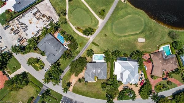 a prime location on the Moorings Country Club luxury real estate