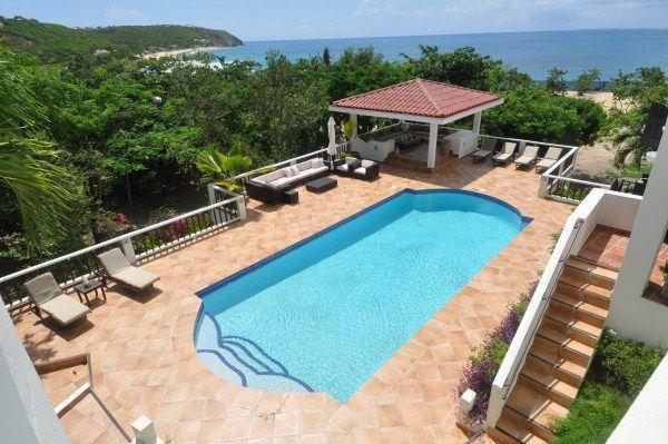Terres Basses Beachfront Villa luxury homes