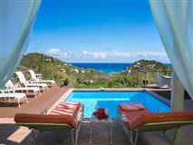 Caribbean Colors in st john mansions