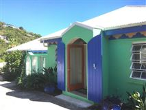 Luxury homes in Caribbean Colors in st john