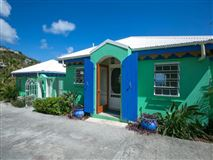 Mansions in Caribbean Colors in st john