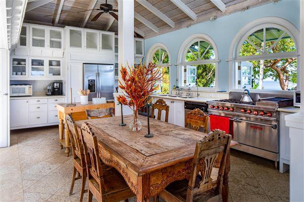 gated Caribbean estate  luxury real estate