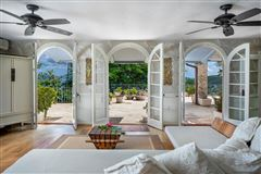 gated Caribbean estate  luxury properties