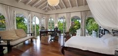 Mansions in gated Caribbean estate