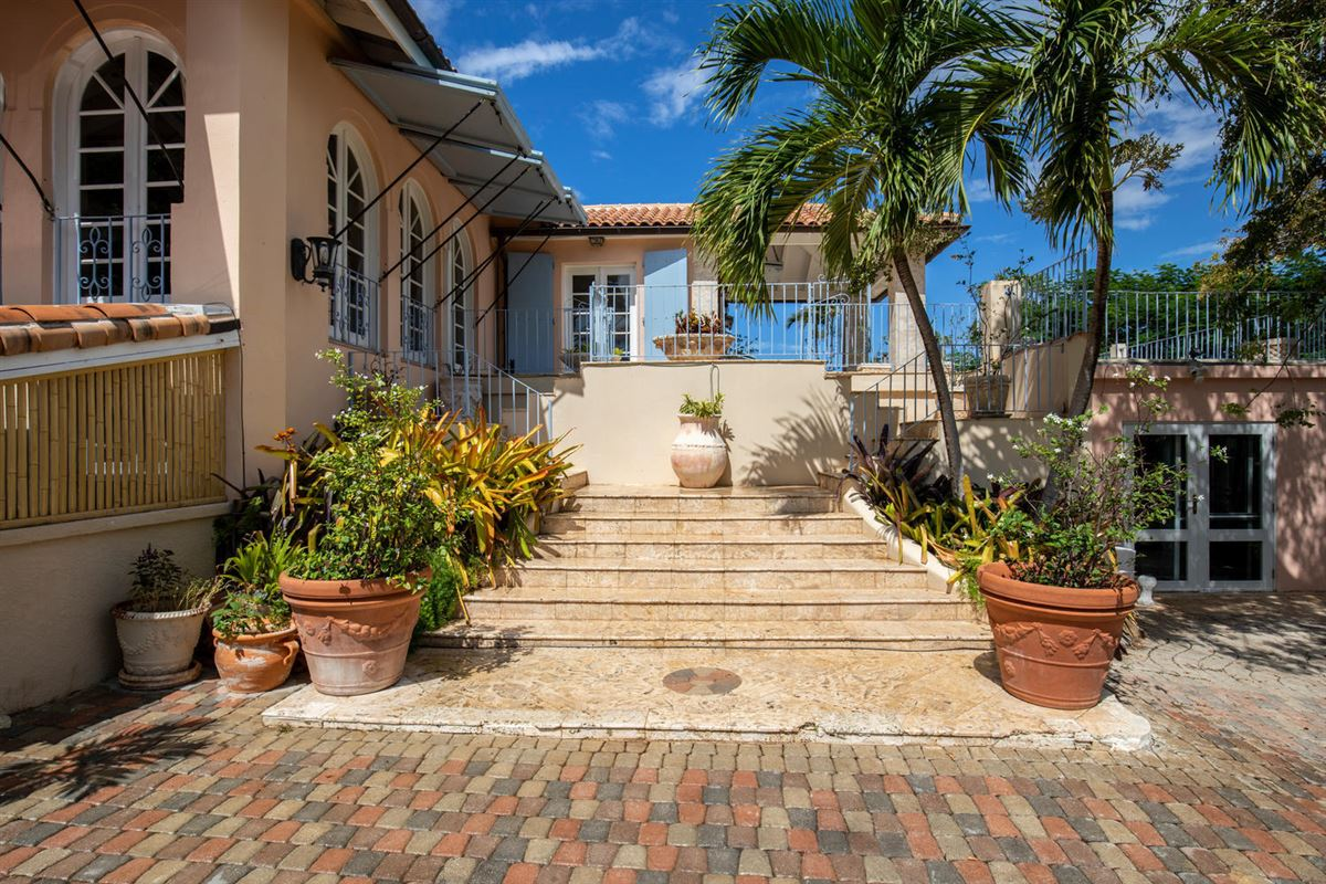 gated Caribbean estate  luxury homes