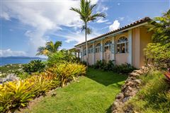 gated Caribbean estate  mansions