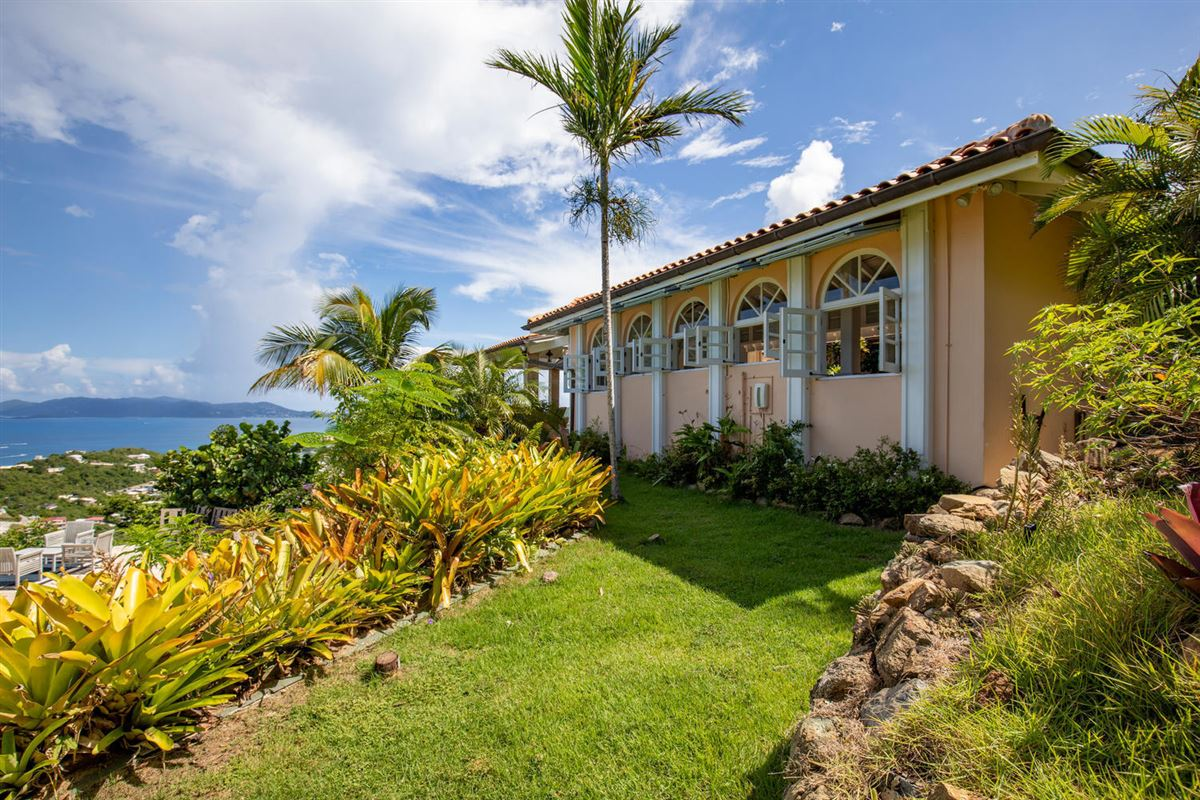Luxury homes in gated Caribbean estate