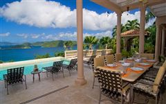 Magnificent North Shore views in st john luxury homes