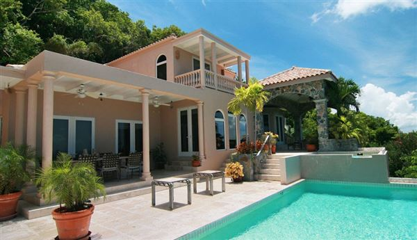 Magnificent North Shore views in st john luxury properties