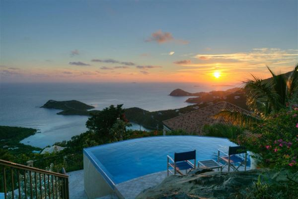 Ultimate privacy in st john luxury homes